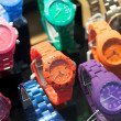 Colorful wristwatches — Stock Photo #40907185
