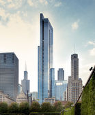 Skyscrapers in Chicago — Stockfoto