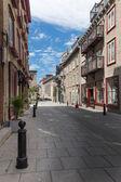 Street in Quebec — Stock Photo