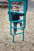 Small kid on playground — Stock Photo