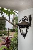 Black lamp — Stock Photo