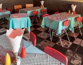 内部的餐厅 — 图库照片