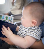 Boy reading the book — Stock Photo