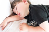 Chlapec spí — Stock fotografie