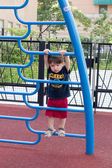 Kid on playground — Stock Photo