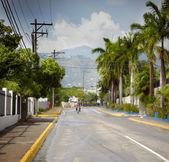 沥青混凝土路面 — 图库照片