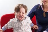 Plačící chlapec — Stock fotografie