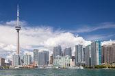 Toronto with waterfront — Foto de Stock