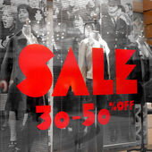 Inscription - Sale — Stock Photo