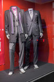 Mannequins in fashionable suits — Stockfoto