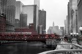 芝加哥市 — 图库照片