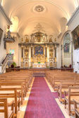 Church interior — Stockfoto