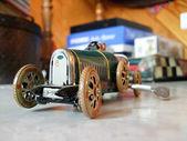 Retro car toy — Stock Photo
