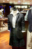Mannequin with clothes — Stock Photo