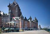 Hotel Chateau Frontenac — Stock Photo