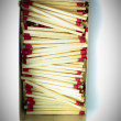 Box of matches — Stock Photo