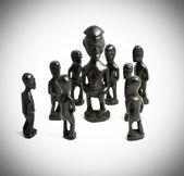 Kraliçe çevresinde Afrika heykelleri — Stok fotoğraf