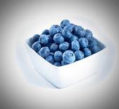 Blueberries in a bowl — ストック写真