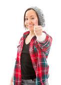 Thumb up sign — Stock Photo