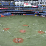 Baseball match — Stock Photo #47645383