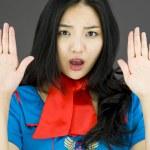Постер, плакат: Stop gesture