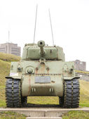 WWII M4 Sherman Tank — Stock Photo