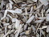 Firewood heap — Stock Photo