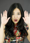 Stop gesture — Stock Photo