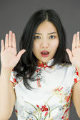 Zastavit gesto — Stock fotografie