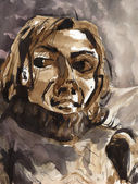Woman portrait — Stock Photo