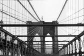 布鲁克林大桥 — 图库照片