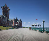 Chateau Frontenac Hotel — Stock Photo