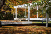 Shelter in a park — Stock Photo