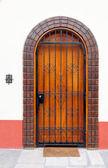 Gesloten deur — Stockfoto