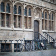 Cycles parked near house — Stock Photo #47930065