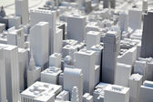 Miniature of Chicago city — ストック写真