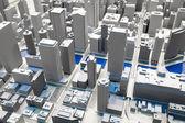 Miniature of Chicago city — Stock Photo