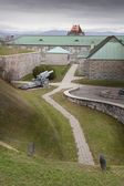 Cannon in Citadelle — Stock Photo