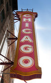 Chicago signboard — Stock Photo