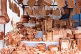 販売のための木製の道具 — ストック写真