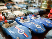 Sports toy cars — Stock Photo