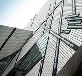 Crystal shaped building — ストック写真