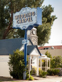 Garland Wedding Chapel — Stock Photo