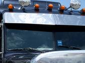 Window of truck — Stock Photo