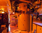 Interiors of a submarine — Stockfoto