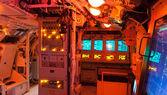 Interni di un sottomarino — Foto Stock