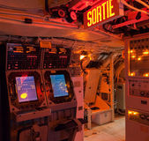 Interiors of a submarine — Stock Photo