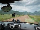дорога в деревне — Стоковое фото