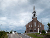 Church at the roadside — Stock Photo