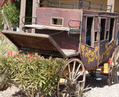 Wagon at a tourist resort, — 图库照片